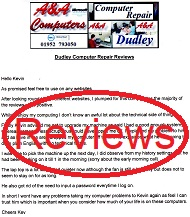 Dudley Computer Repair Reviews