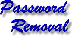 Laptop Password Removal, PC Password Removal
