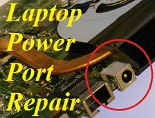 Dudley Dell Laptop Power Socket Repair